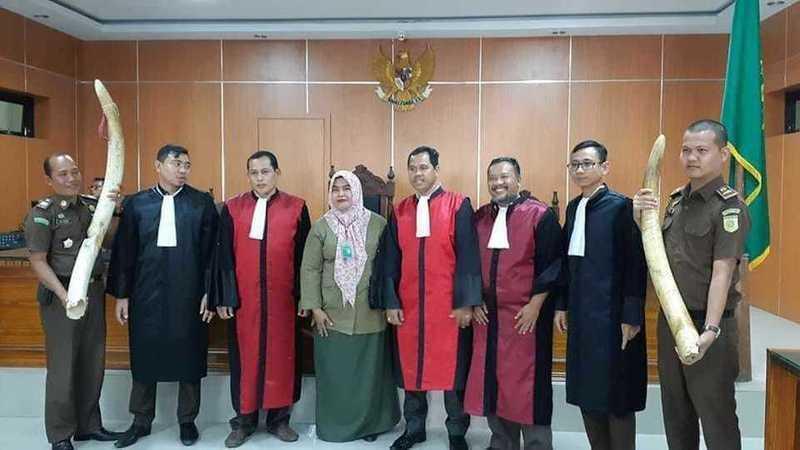 bunta pengadilan