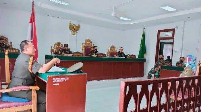 pengadilan militer orangutan