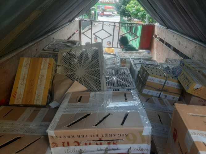 penyelundupan burung di Lampung